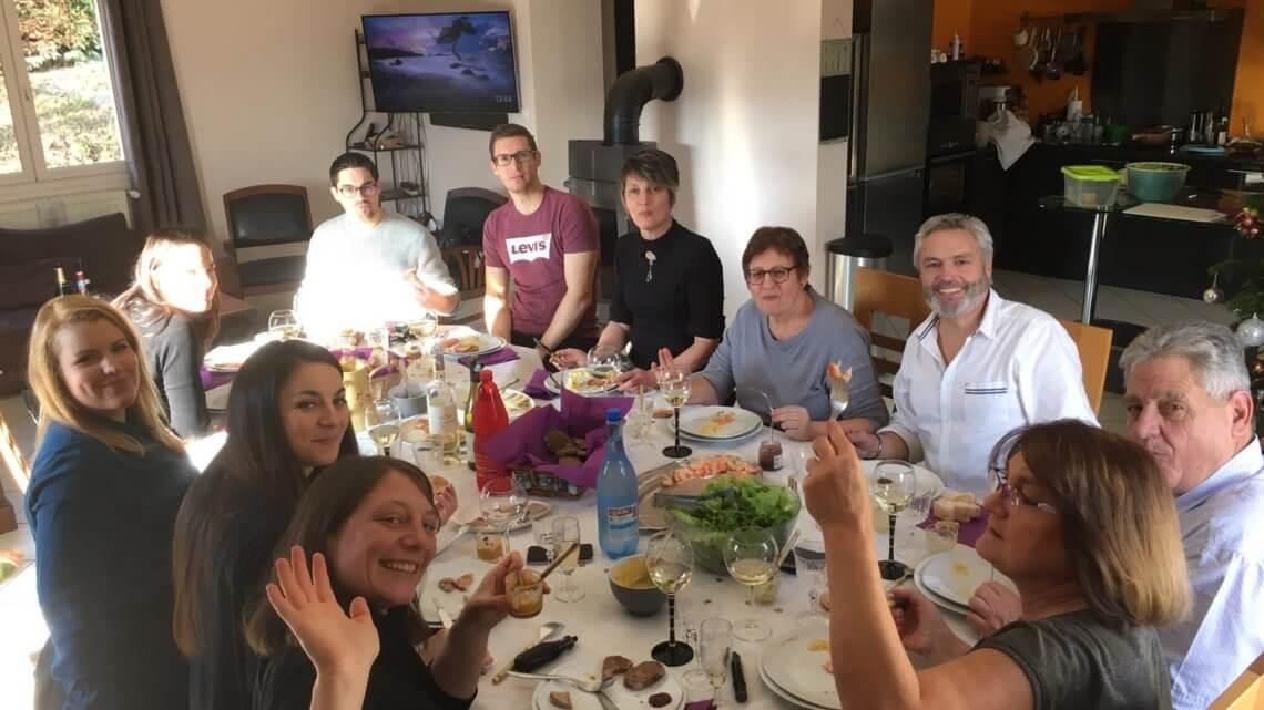 Décembre : la fête, la bouffe, la famille